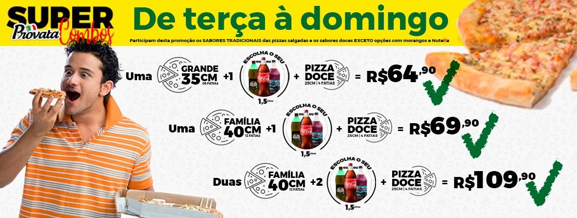 Monte sua pizza