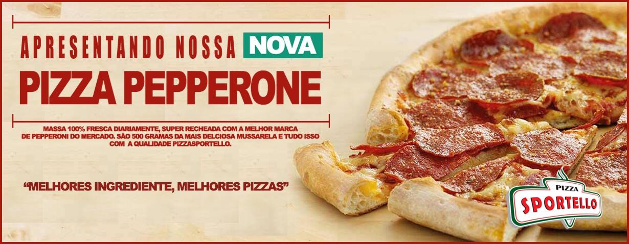 Nova pizza de PEPPERONE