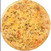Salgadas: Mussarela - Pizza Broto (Ingredientes: Mussarela)