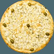 Salgadas: Palmito - Pizza Broto (Ingredientes: Mussarela, Palmito)