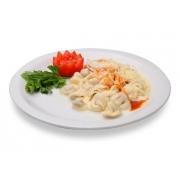 Carnes: Filé Chateaubriant - A La Carte Grande (Ingredientes: filé alto ao molho madeira. acompanha : arroz branco e pure.)