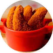 Porções: Nuggets - Individual (Ingredientes: Pedaços De Frangos Empanados)