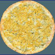 Salgadas: Caipira - Pizza Broto (Ingredientes: Cebola, Frango, Milho, Mussarela)