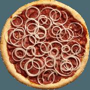 Salgadas: Calabresa - Pizza Broto (Ingredientes: Calabresa, Cebola)