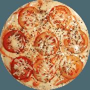 Tradicionais: Napolitana - Pizza Grande (Ingredientes: Cebola, Molho, Orégano, Tomate)