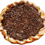 Doces: Chocolate - Pizza Broto (Ingredientes: Chocolate)