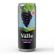 Suco: Del Valle Uva Lata 290ml - Suco sabor Uva