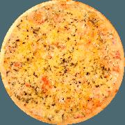 Tradicionais: Mussarela - Pizza Grande (Ingredientes: Molho de Tomate, Mussarela, Orégano, Tomate Fatiado)