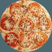 Tradicionais: Napolitana - Pizza Grande (Ingredientes: Molho de Tomate, Mussarela, Orégano, Parmesão, Tomate Fatiado)
