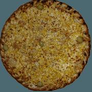 Tradicionais: Milho - Pizza Pequena (Ingredientes: Azeitona, Milho, Molho de Tomate, Muçarela, Orégano)