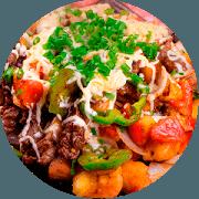 Porções: Carne de Sol - Petiscos (Ingredientes: Carne de sol)