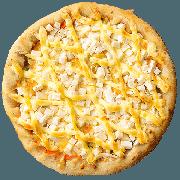 Tradicionais: Palmito - Pizza Pequena (Ingredientes: Azeitona, Molho de Tomate, Muçarela, Orégano, Palmito)