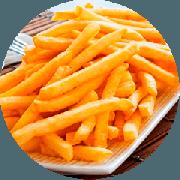 Porções: Batata Frita Média - Petiscos (Ingredientes: Batata)
