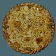 Tradicionais: Muçarela - Pizza Pequena (Ingredientes: Azeitona, Molho de Tomate, Muçarela, Orégano)