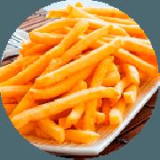 Porções: Batata Frita Pequena (PETISCO) - Petiscos (Ingredientes: Batata)