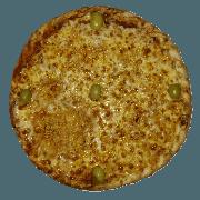 Tradicionais: Alho e Óleo - Pizza Pequena (Ingredientes: Alho e Oléo, Azeitona, Molho de Tomate, Muçarela, Orégano)