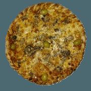 Especiais: Italiana - Pizza Pequena (Ingredientes: Azeitona, Cogumelos paris aromatizados, Molho de Tomate, Muçarela, Orégano)