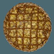 Doces: Banana c/ Doce de Leite - Pizza Pequena (Ingredientes: Banana, Canela, Doce de Leite)
