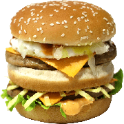 Hambúrguer: 09- Duplo Egg - Lanche (Ingredientes: Pão, 2 Hamburgueres, 2fatias de queijo cheddar, Ovo, Cebola, Molho Especial, Ketchup, Mostarda, Maionese, Batata Palha, Alface)