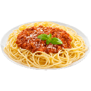 Espaguete: Espaguete A Bolognesa(Serve 2 pessoa ) - Massas (Ingredientes: Bolonhesa)