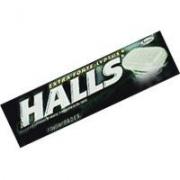 Doce: Halls Preto - Bala Halls preto