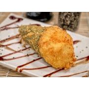 Temaki Especiais: Temaki Hot Philadélfia - Temaki philadélfia empanado