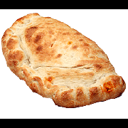 Calzone: Canadense - Calzone Médio (Ingredientes: Azeitona, Catupiry, Lombo Canadense, Palito)