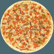 Tradicionais: Aliche - Pizza Grande (Ingredientes: Aliche Importada, Azeitona, Mussarela, Orégano)