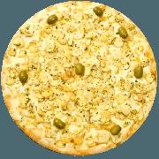 Tradicionais: Bonanza 2 - Pizza Média (Ingredientes: Atum, Azeitona, Catupiry, Champignon, Mussarela, Orégano)