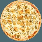 Tradicionais: Catupiry - Pizza Média (Ingredientes: Azeitona, Catupiry, Mussarela, Orégano)