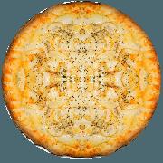 Tradicionais: Champignon - Pizza Média (Ingredientes: Azeitona, Catupiry, Champignon, Mussarela, Orégano, Palmito)