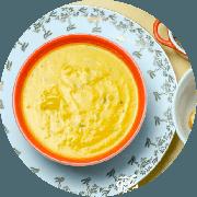 Sopa: Fit 500ml (Campeão de Satisfação) - Sopa (Ingredientes: Batata doce, Cenoura, Consumê de frango)