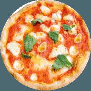 Tradicionais: Marguerita 2 - Pizza Média (Ingredientes: Azeitona, Manjericão, Mussarela De Búfula, Orégano, Tomate Seco)