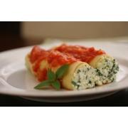 Caneloni: Caneloni Gorgonzola c/ Nozes - Massas (Ingredientes: Gorgonzola, Nozes)