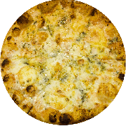 Tradicionais: Siciliana - Pizza Média (Ingredientes: Azeitona, Catupiry, Champignon, Milho, Mussarela, Orégano)