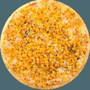 Tradicionais: Siciliana Especial - Pizza Média (Ingredientes: Azeitona, Catupiry, Champignon, Milho, Mussarela, Orégano)