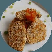 Peixes e Frutos do Mar: Peixe Crocante com Molho Teriyaki - prato (Ingredientes: (+2 Acompanhamentos), Peixe envolvido com farinha panko acompanhado com molho Teriyaki)