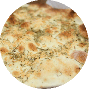 Crostini: Calabresa Médio - Crostini (Ingredientes: Massa Crocante, Fio de Azeite, Calabresa Picada, E Orégano)