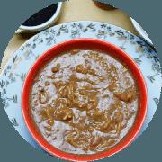 Sopa: Sopa de Feijão. 500ml (Mais Pedida) - Sopa (Ingredientes: Cenoura, Feita com feijão carioca, Macarrão integral, Temperos)