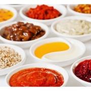 Condimentos: Ketchup, Mayo, Mostarda, Azeite - Sache