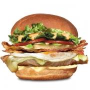 Gourmet: Filézão - Hambúrguer (Ingredientes: Alface, Bacon, Filé de Carne 150g, Maionese, Molho Especial, Ovo, Pão, Queijo, Tomate)
