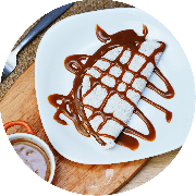 Sobremesas: Mini Tapioca de Doce de Leite - Sabor doce de leite