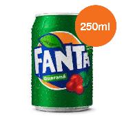 Refrigerante: Fanta Guaraná 250ml - Sabor Guaraná