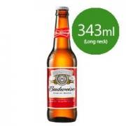 Cerveja: Budweiser 343ml - Cerveja Budweiser 343ml
