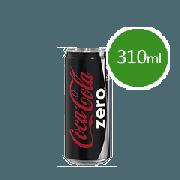 Refrigerante Lata: Coca-Cola Zero 310ml - Refrigerante de Cola