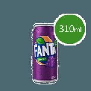 Refrigerante Lata: Fanta Uva 310ml - Fanta Uva Lata 310ml