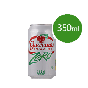 Refrigerante Lata: Guaraná Antárctica Zero 350ml - Guaraná Antárctica Zero 350ml