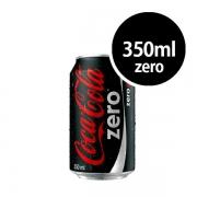 Refrigerante: Coca-Cola Zero Lata 350ml - Refrigerante Cola