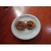 Coffee Break: Mini esfiha chocolate branco - Mini esfiha