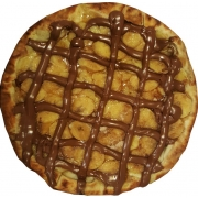 Doces: Choconana - Pizza Broto (Ingredientes: Banana, Chocolate ao Leite)